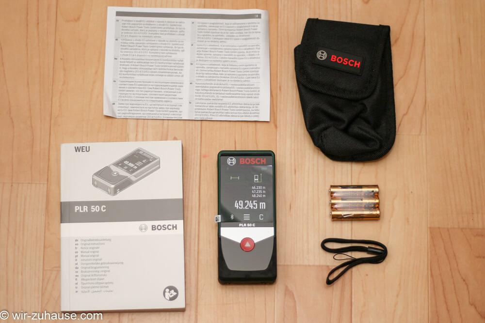 Laser entfernungsmesser bosch plr c im test wir zuhause