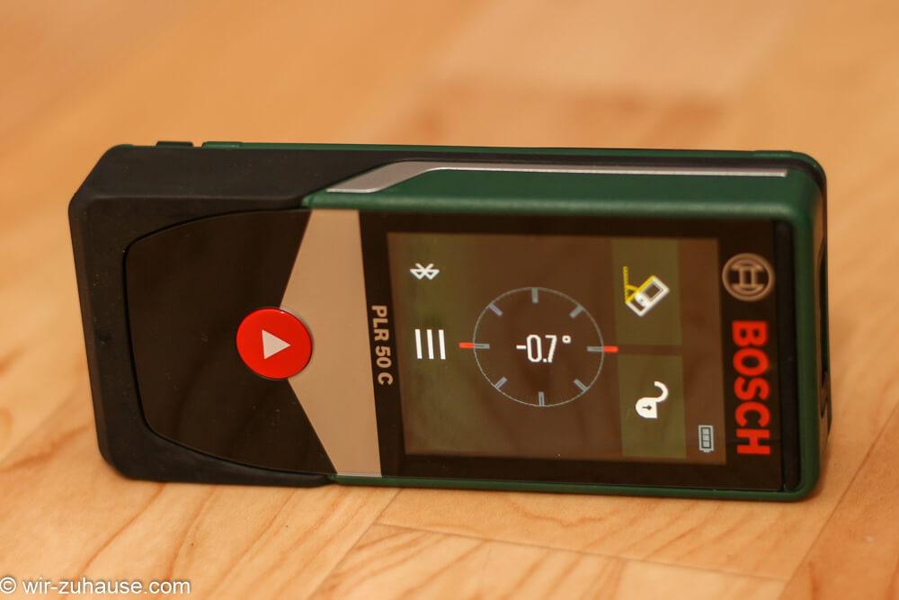 Laser Entfernungsmesser Selber Bauen : Laser entfernungsmesser bosch plr c im test wir zuhause