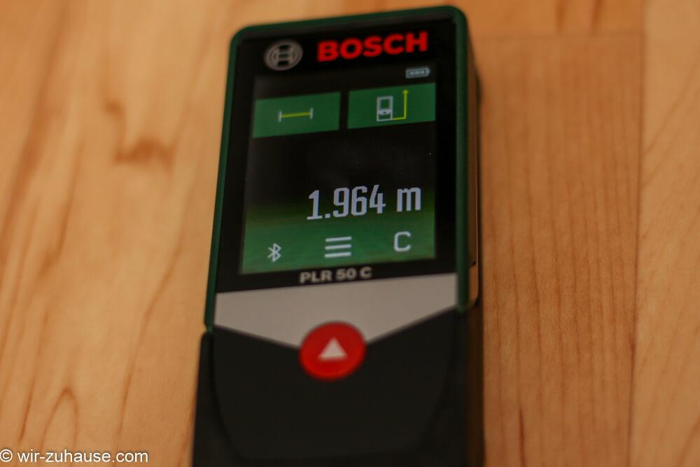 Der Bosch PLR 50 C im Test