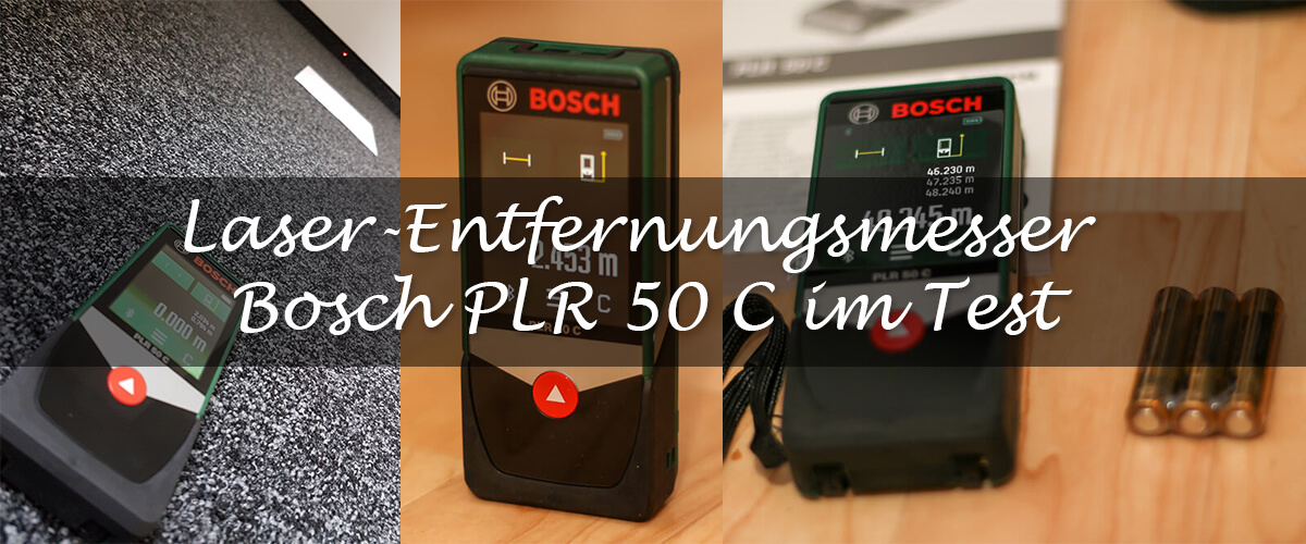 laser entfernungsmesser bosch plr 50 c im test wir zuhause. Black Bedroom Furniture Sets. Home Design Ideas