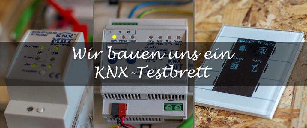KNX Testbrett