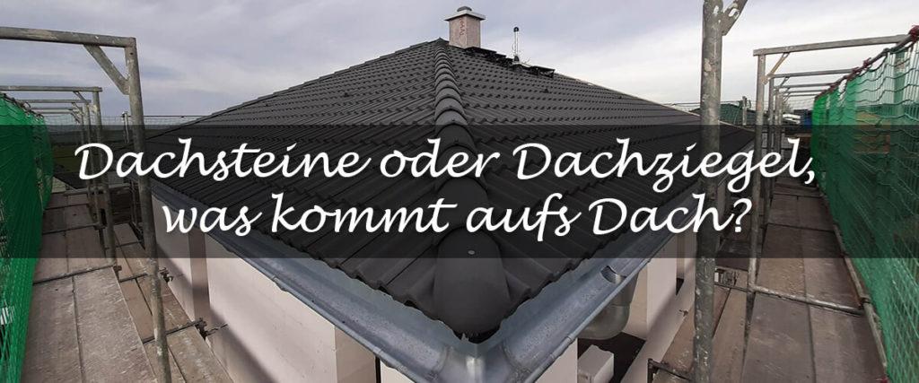 Dachsteine oder Dachziegel Teaser