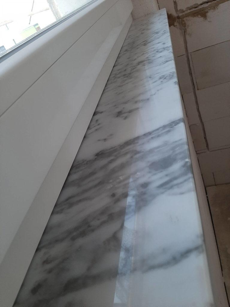 Fensterbänke Innen Carrara Marmor