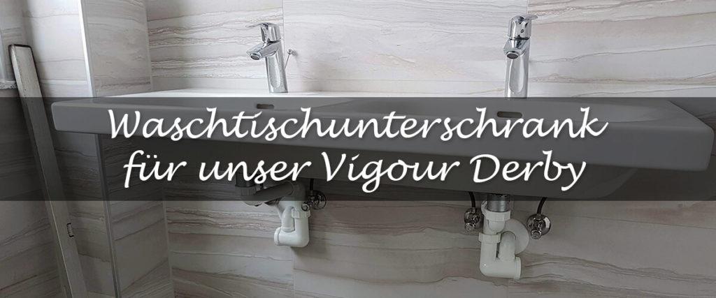 Teaser Waschtischunterschrank Vigour Derby Doppelwaschtisch