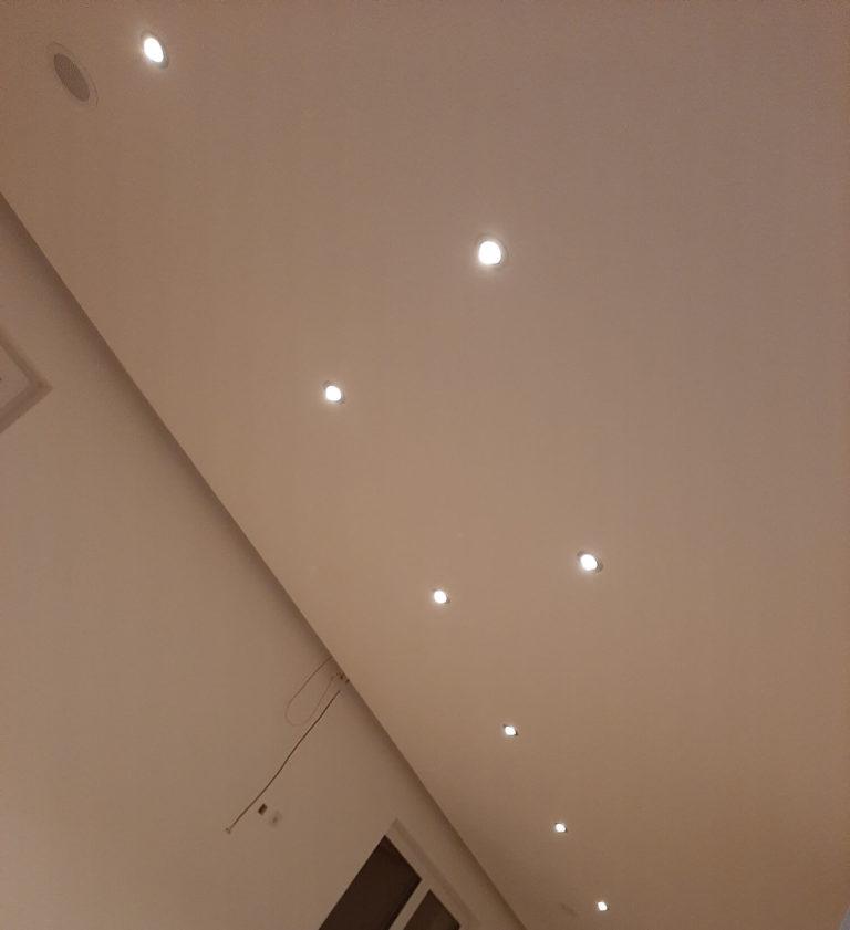 abgehängte Decke LED Spots