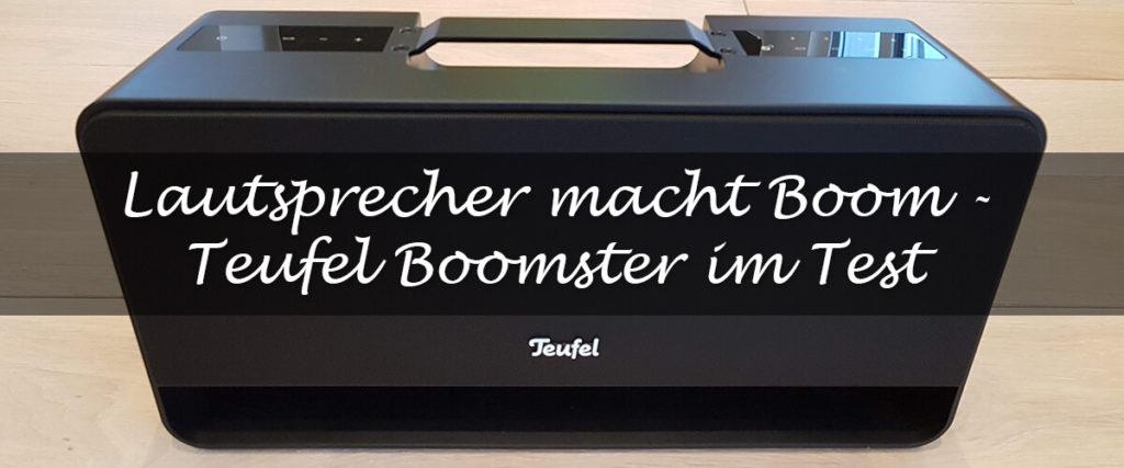 Teaser Teufel Boomster Test