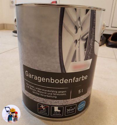 Fußboden Garage beschichten Garagenbodenfarbe